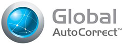 Global AutoCorrect logo