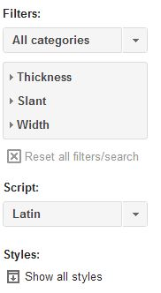 Add search filter screenshot
