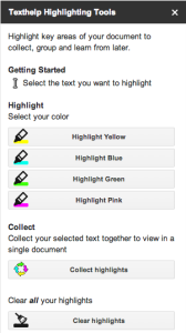 Texthelp Highlighting Tools Add-On