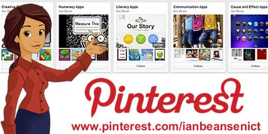 Ian Bean SENICT's Pinterest banner
