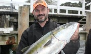 Jason very proud of his catch post ILT2012 in NZ