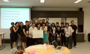 Greg with the team of Special Education HOD's in Singapore at his iPad presentations May 2012