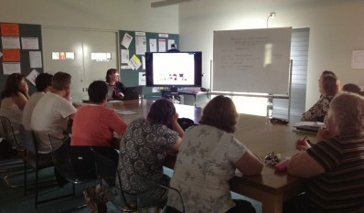 Consultancy workshop session at South Gippsland Special School, Victoria 5/11/12
